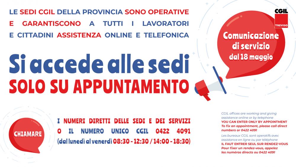 SPORTELLO IMMIGRAZIONE - Camera del lavoro di Treviso